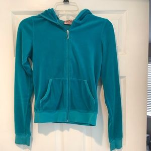 Juicy couture hooded zip up sz S